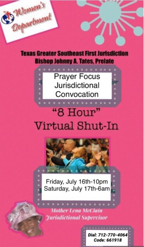 8-Hour Virtual Shut-In