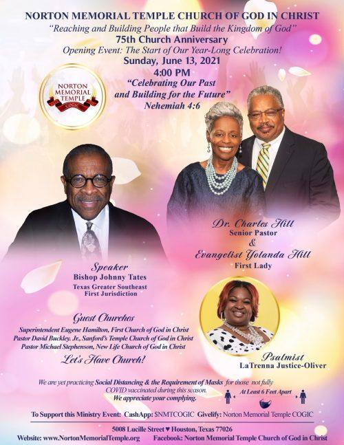 Norton Memorial Temple COGIC 75th Church Anniversary