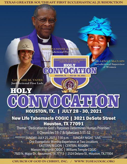Holy Convocation 2021