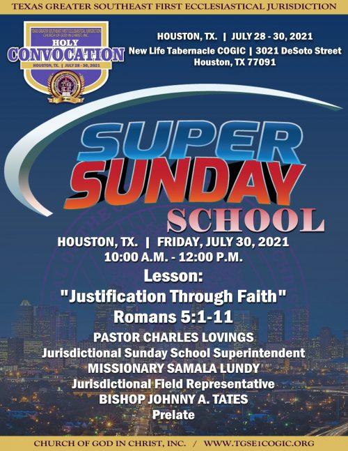 Super Sunday School